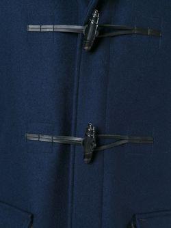 Дафлкот С Панелями Из Овчины MSGM                                                                                                              синий цвет