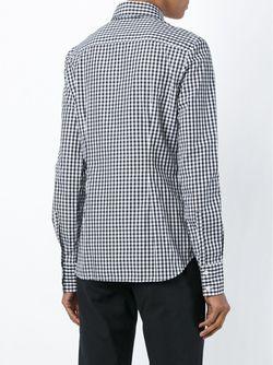 Рубашка В Клетку Гингем BEST+                                                                                                              черный цвет