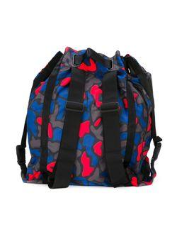 Рюкзак С Камуфляжным Принтом Y-3                                                                                                              серый цвет