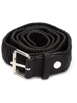 Double Buckle Belt Y / PROJECT                                                                                                              черный цвет