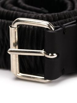 Double Buckle Belt Y / PROJECT                                                                                                              чёрный цвет