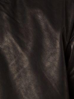 Толстовка Из Лошадиной Кожи С Капюшоном Y / PROJECT                                                                                                              чёрный цвет