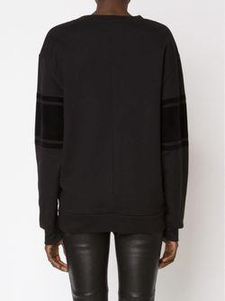 Varsity Sweatshirt Alexandre Vauthier                                                                                                              чёрный цвет