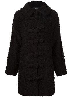 Loop Knit Coat Yohji Yamamoto                                                                                                              чёрный цвет