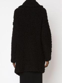 Loop Knit Coat Yohji Yamamoto                                                                                                              черный цвет