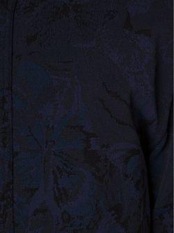 Куртка-Бомбер Camubutterfly Valentino                                                                                                              синий цвет