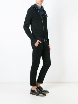 Куртка Со Смешенной Молнией Emporio Armani                                                                                                              чёрный цвет