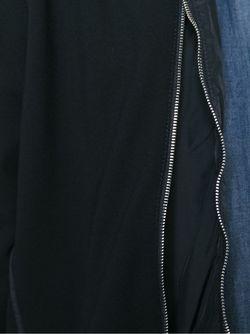 Куртка Со Смешенной Молнией Emporio Armani                                                                                                              черный цвет