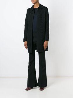 Жаккардовое Пальто Missoni                                                                                                              чёрный цвет