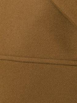 Пальто С Заостренными Лацканами No21                                                                                                              коричневый цвет