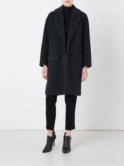 Пальто С Накладными Карманами ASTRAET                                                                                                              серый цвет