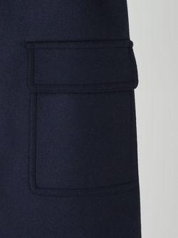 Пальто Без Застежки ASTRAET                                                                                                              синий цвет