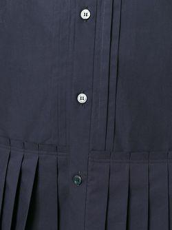 Рубашка С Плиссированным Подолом Undercover                                                                                                              синий цвет