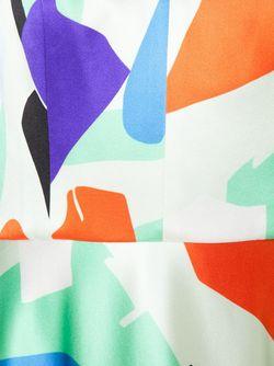 Расклешенное Платье На Тонких Лямках NOVIS                                                                                                              белый цвет
