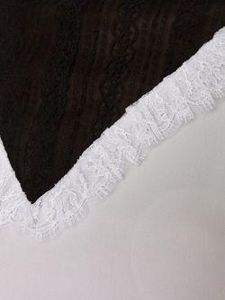 Свитер С Контрастной Панелью Rodarte                                                                                                              черный цвет