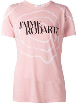 Футболка С Принтом Rodarte                                                                                                              розовый цвет
