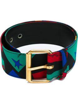 Ремень С Принтом Saint Laurent                                                                                                              многоцветный цвет