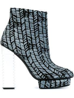Ботинки Eline Aperlai                                                                                                              серый цвет