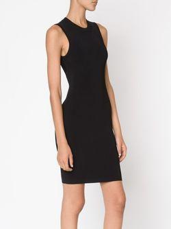 Облегающее Платье Без Рукавов Alexander Wang                                                                                                              чёрный цвет