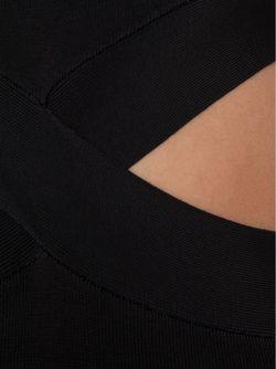 Облегающее Платье С Вырезными Деталями Alexander Wang                                                                                                              черный цвет