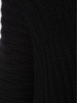 Свитер Ребристой Вязки С Высоким Горлом URBAN ZEN                                                                                                              чёрный цвет