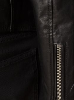 Band Collar Zipped Jacket Blk Dnm                                                                                                              чёрный цвет