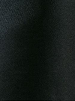 Платье С Волнистой Отделкой Red Valentino                                                                                                              чёрный цвет