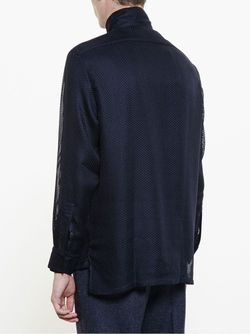Mesh Jacket Lanvin                                                                                                              синий цвет