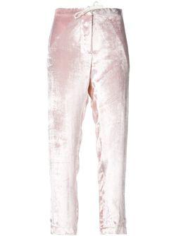Velvet Trousers Rosie Assoulin                                                                                                              розовый цвет