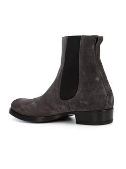 Ботинки С Эластичными Панелями Buttero                                                                                                              серый цвет