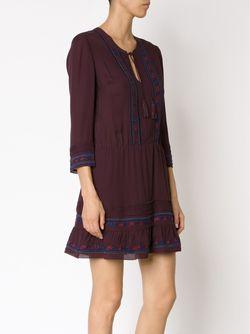 Embroidered Dress Veronica Beard                                                                                                              розовый цвет