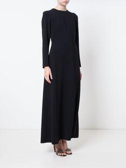 Plaited Back Gown Natasha Zinko                                                                                                              чёрный цвет