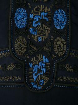 Блузка С Вышивкой Veronica Beard                                                                                                              синий цвет