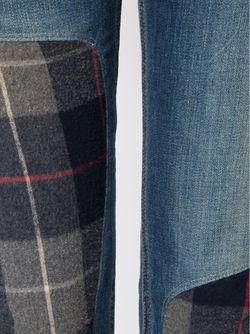 Джинсы С Заплатками The Dre Rag & Bone/Jean                                                                                                              синий цвет
