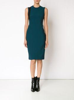 Sleeveless Fitted Dress Yigal Azrouel                                                                                                              синий цвет