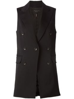 Double Breasted Vest Rag & Bone                                                                                                              черный цвет