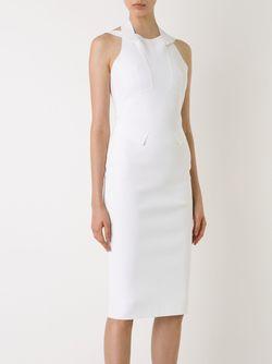 Приталенное Платье SCANLAN THEODORE                                                                                                              белый цвет