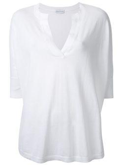 Вязаный Свободный Топ SCANLAN THEODORE                                                                                                              белый цвет