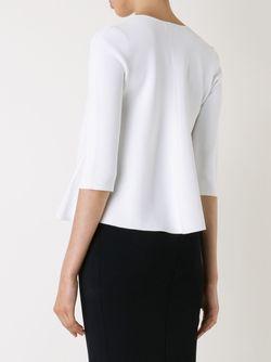Блузка Свободного Кроя SCANLAN THEODORE                                                                                                              белый цвет