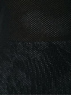 Сетчатый Топ SCANLAN THEODORE                                                                                                              черный цвет