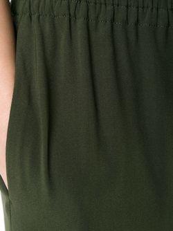 Эластичные Брюки SCANLAN THEODORE                                                                                                              зелёный цвет