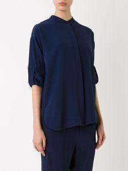 Рубашка С Воротником-Стойкой SCANLAN THEODORE                                                                                                              синий цвет