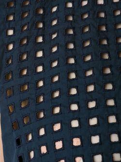 Сетчатый Топ С Вышивкой SCANLAN THEODORE                                                                                                              синий цвет