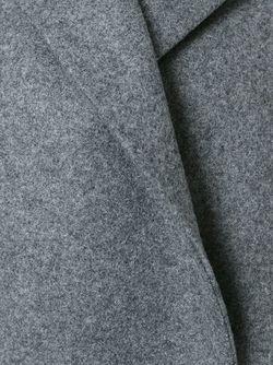 Пальто С Потайной Застежкой Barena                                                                                                              серый цвет