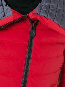 Стеганый Пуховик Moncler Grenoble                                                                                                              красный цвет