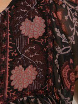 Sheer Blouse Ulla Johnson                                                                                                              коричневый цвет