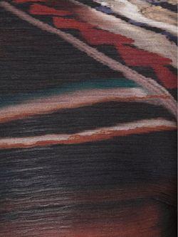 Блузка С Абстрактным Принтом Yigal Azrouel                                                                                                              черный цвет