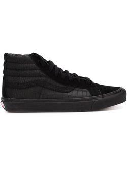Хайтопы Sk8-Hi Vans                                                                                                              черный цвет