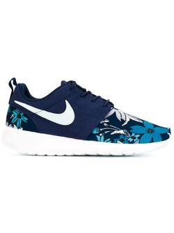 Кроссовки Rosherun Print Nike                                                                                                              синий цвет