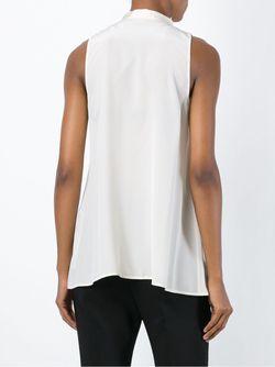 Блузка С Кружевными Вставками Roberto Cavalli                                                                                                              белый цвет